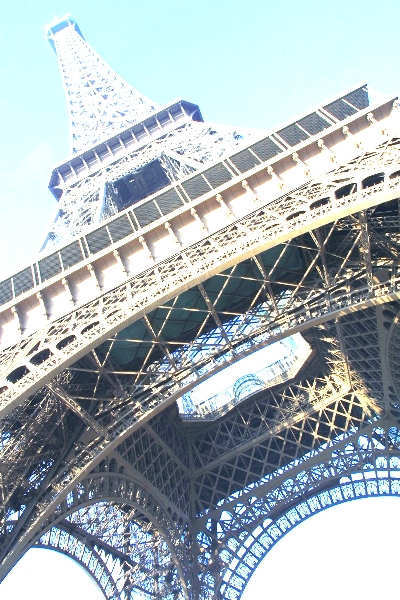 Tour de  Eiffel close up